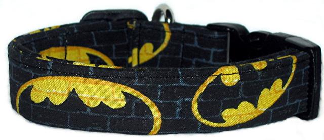 batman dog collar
