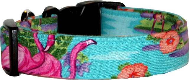 Tropical Themed Dog Collars