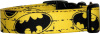 Yellow Brick Batman Handmade Dog Collar