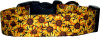 Mini Sunflowers Dog Collar