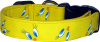 Yellow Tweety Bird Eyes Dog Collar